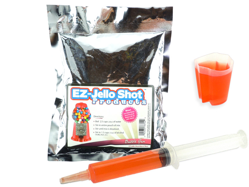 Bubble Gum EZ-Jello Shot Mix