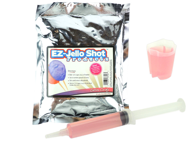 Cotton Candy EZ-Jello Shot Mix