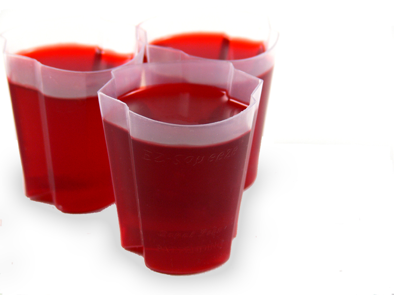 EZ-Squeeze Jello Shot Cups 200 Pack