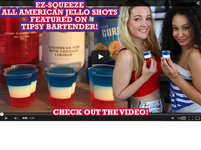 Patriotic Jello Shots