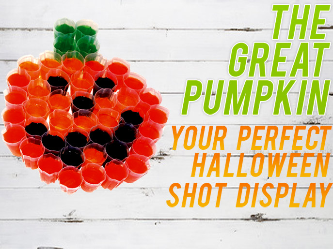 The Great Pumpkin Jello Shot Display